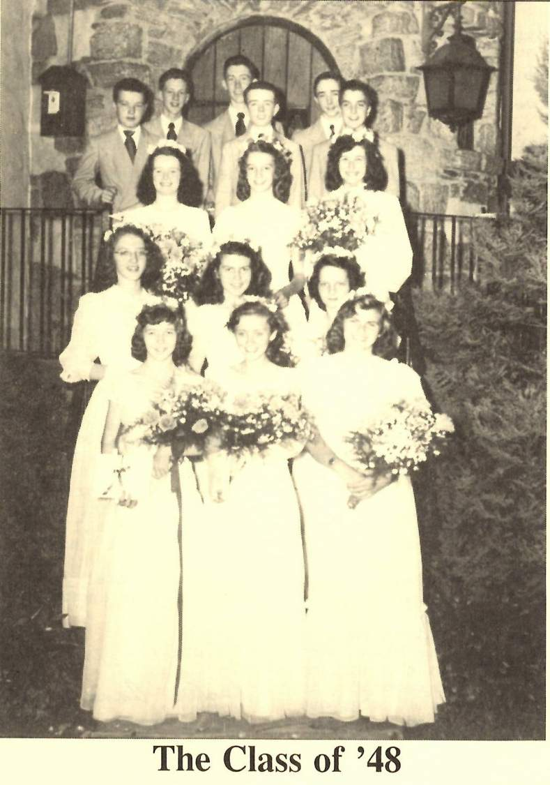 Class of 1948 grad photo
