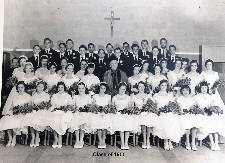 Class of 1955 grad pic