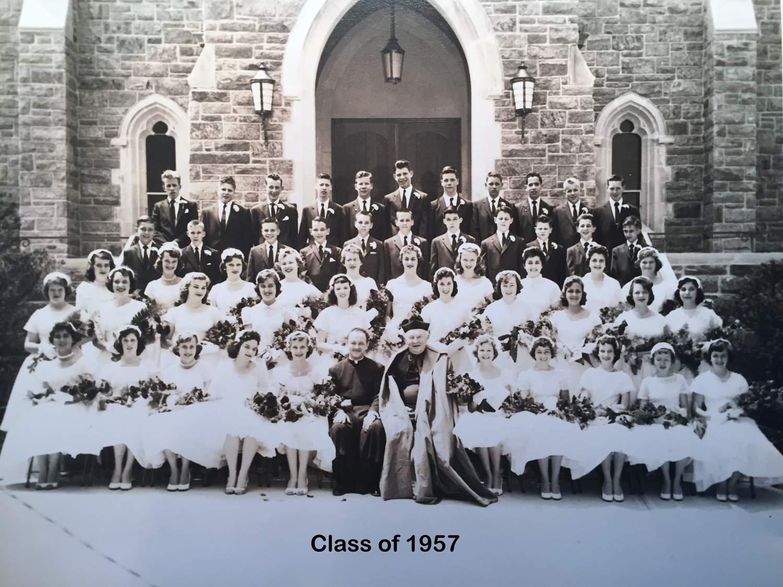 Class of 1957 grad pic