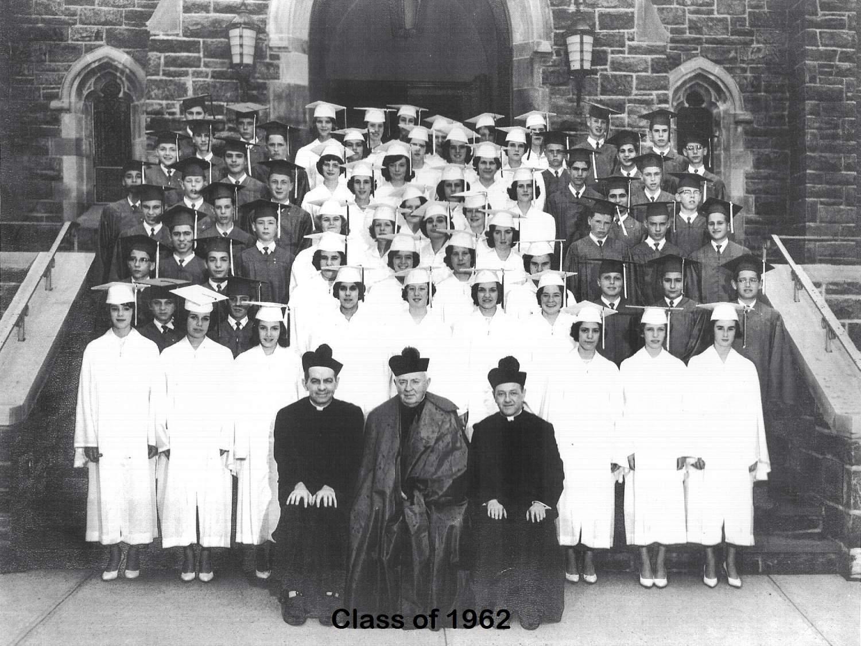 Class of 1962 grad pic