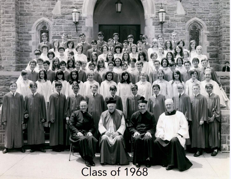 Class of 1969 grad pic