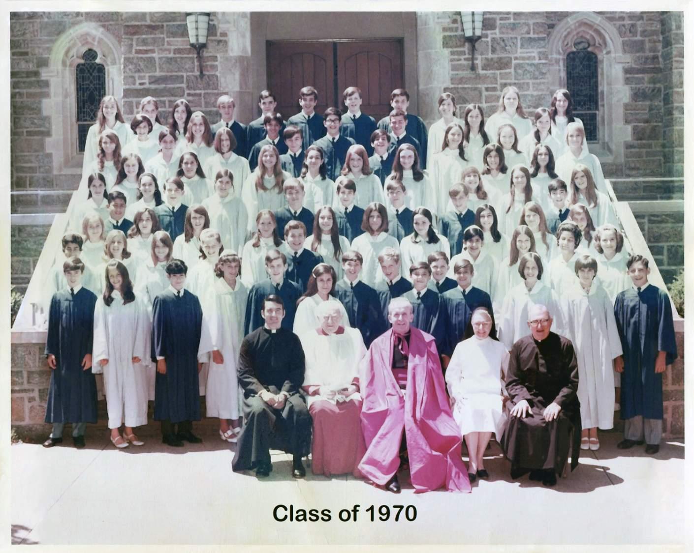 Class of 1970 grad pic