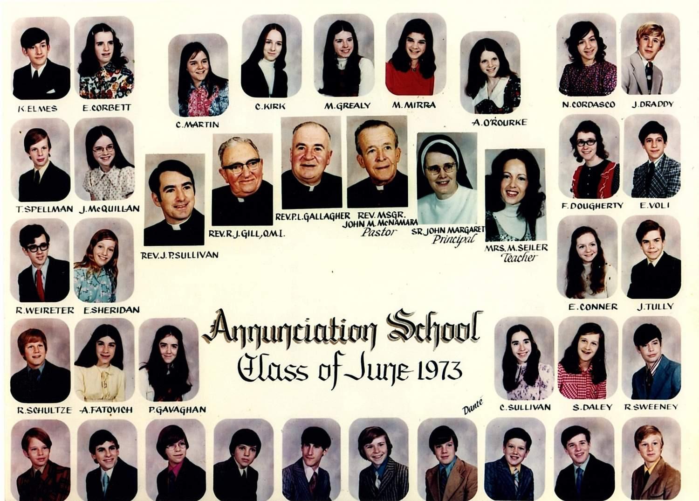 Class of 1973 Class 8A