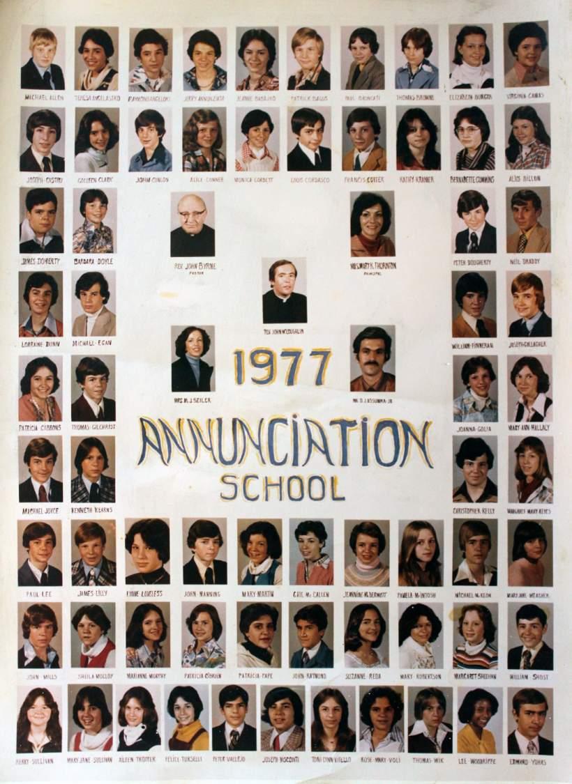 Class of 1977 grad pic