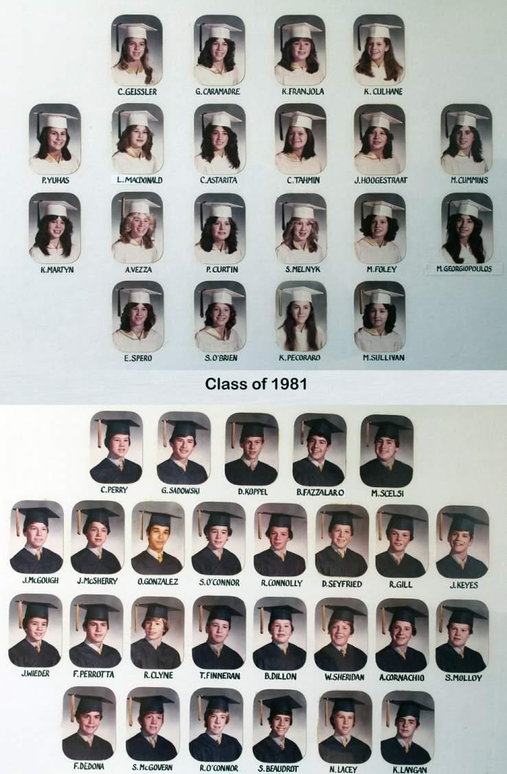 Class of 1981 grad pic