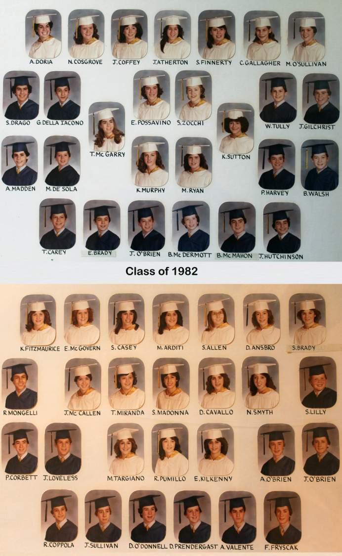 Class of 1982 grad pic
