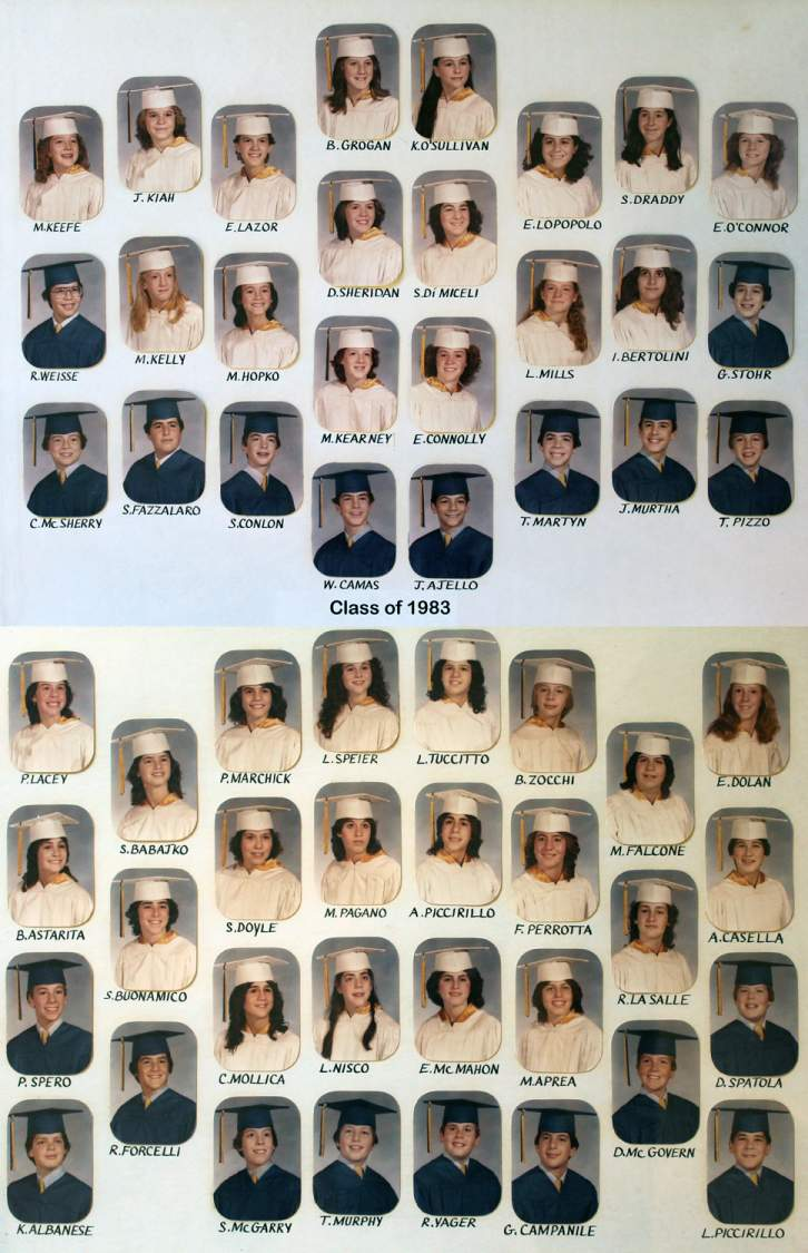 Class of 1983 grad