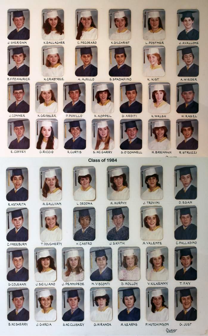 Class of 1984 grad pic