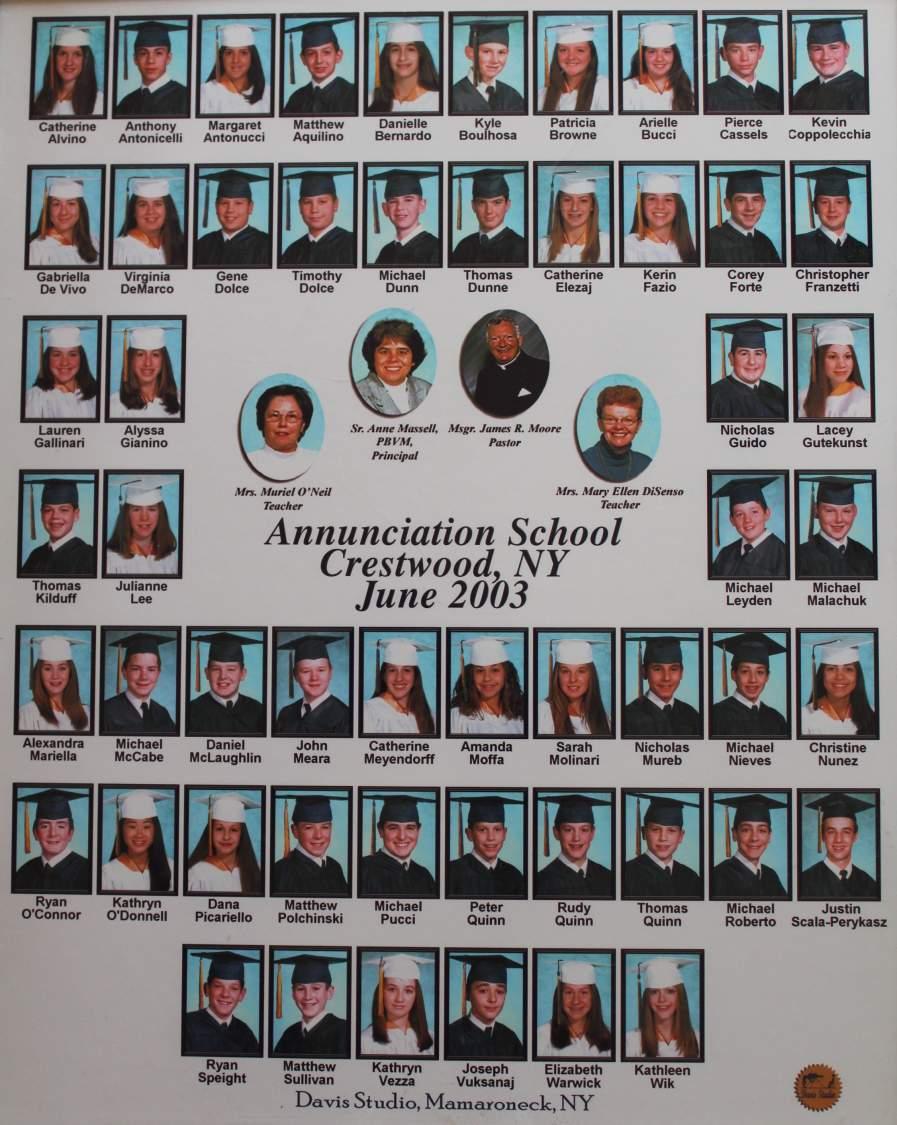Class of 2003 grad pic
