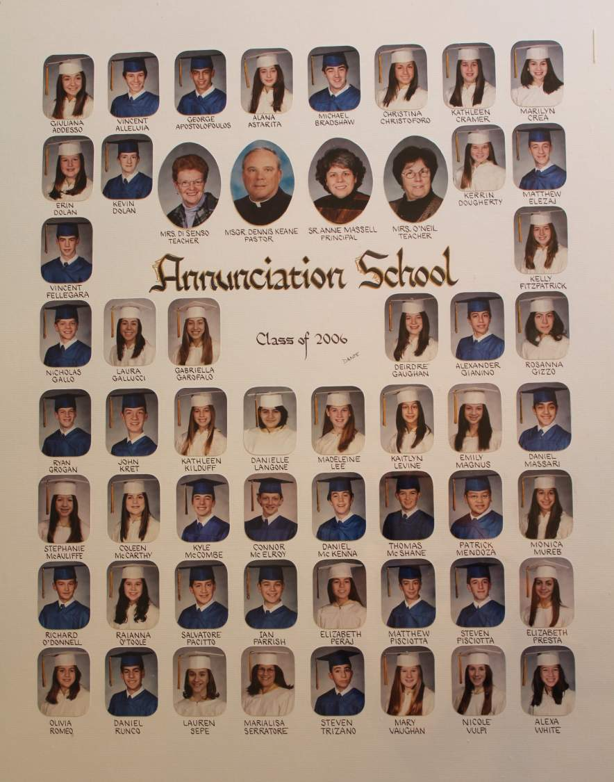 Class of 2006 grad picture