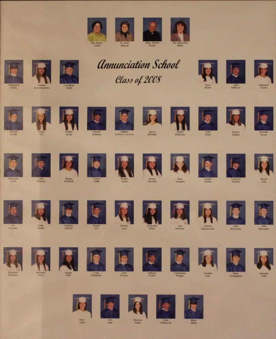 Class of 2008 grad pic