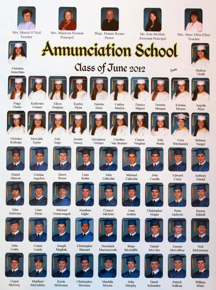 Class of 2012 grad pic