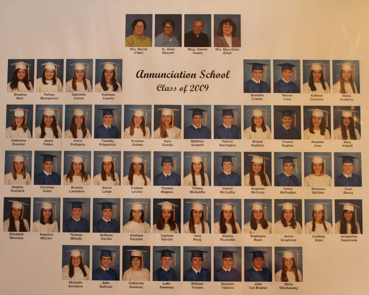 class of 2009 grad pic