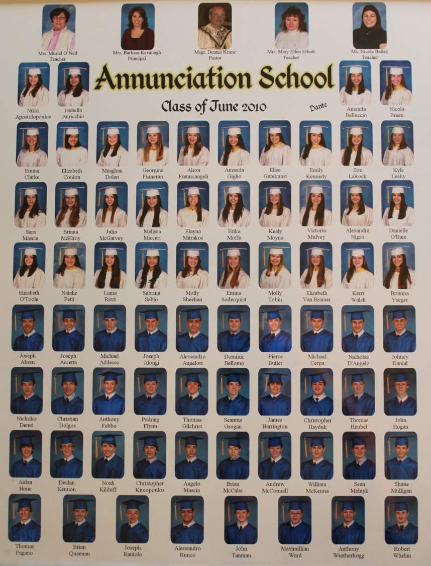 class of 2010 grad picture